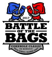 2017 Battle of the Bags Cornhole Classic logo